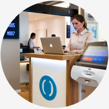 Пополнение счёта в отделении банка